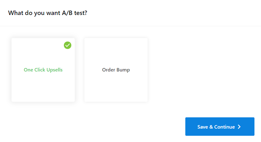 a/b-testing-selection-order-bump-upsells