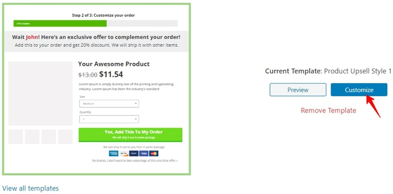 a/b-testing-product-upsell