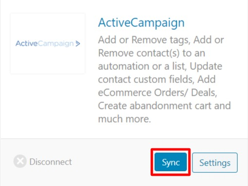 WooCommerce ActiveCampaign Integration and data syncing with Autonami