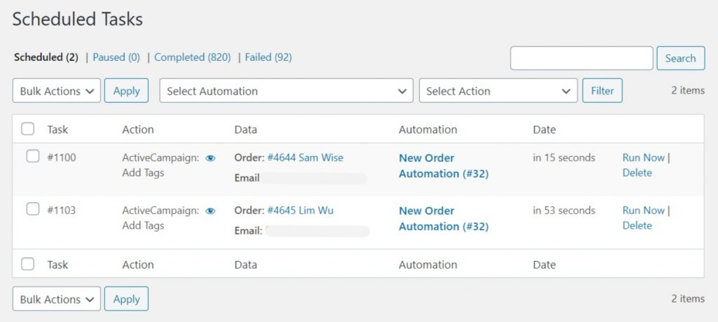 WooCommerce-Automation-Task-Scheduled