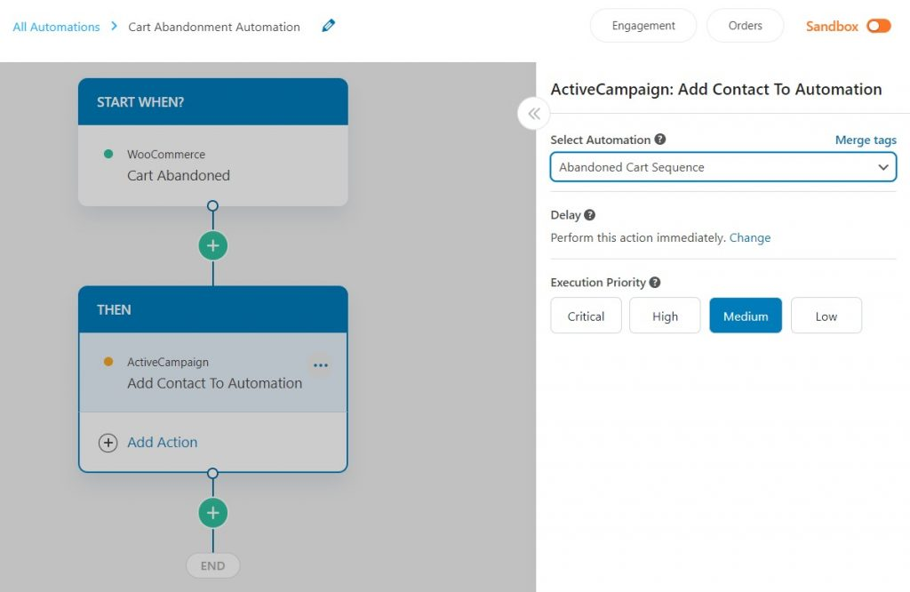 WooCommerce ActiveCampaign Automation for abandoned carts