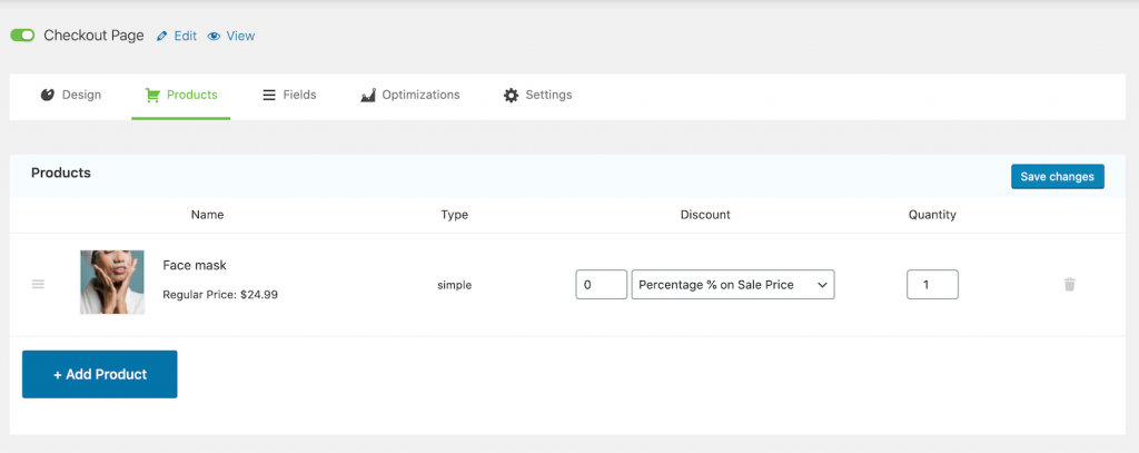 Product added to the checkout page for WooCommerce Skip Cart