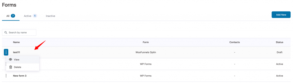 Forms overview in Autonami