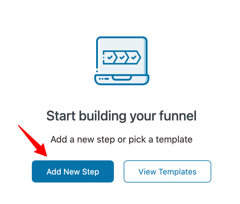 Add New Step in the funnel